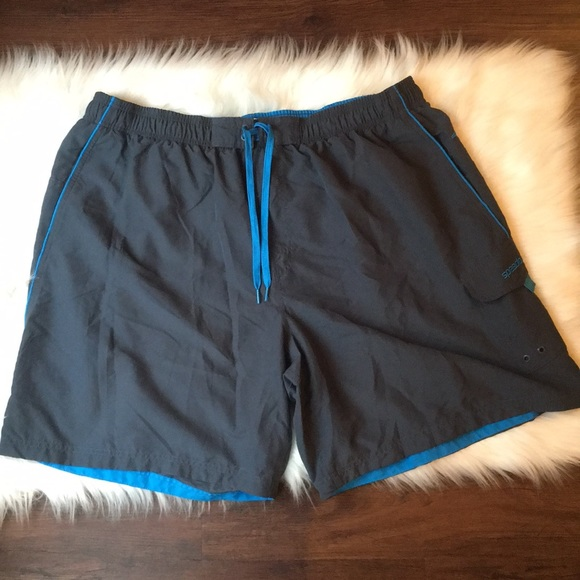 2e27c67d57 Speedo Swim | Nwot Mens Trunks Blackblue 3x | Poshmark